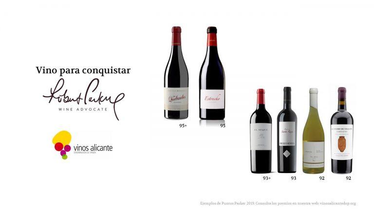Festival de Puntos Parker para Vinos Alicante DOP