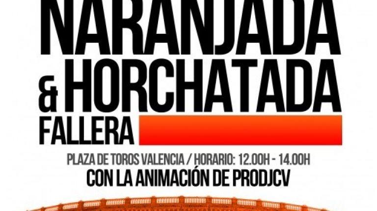 Naranjada y Horchatada Fallera los días 8 y 9