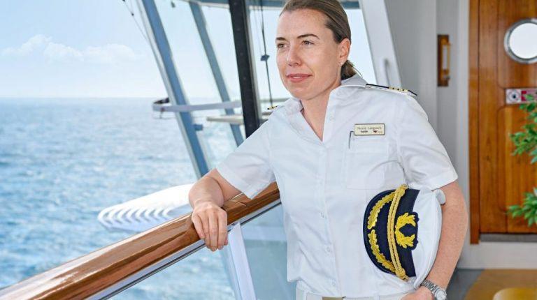 AIDA Cruises nombra la primera capitana alemana de cruceros