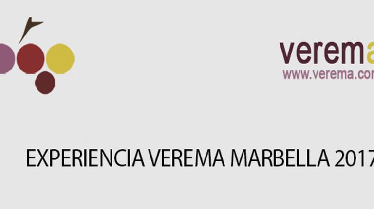 La 1ª edición de la Experiencia Verema Marbella se celebrará el próximo lunes 3 de abril