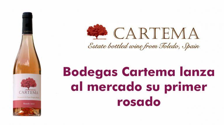 Bodegas Cartema lanza al mercado su primer rosado