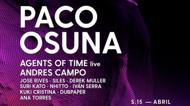 Paco Osuna Sabado 15 Abril Metro Dance Club