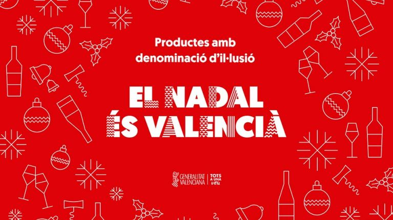 La campaña de promoción El Nadal es Valencià cuenta con los vinos de la DO Valencia