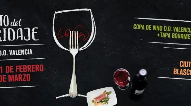 Arranca el IV Reto del Maridaje, copa de vino DO Valencia y tapa gourmet por 3 euros