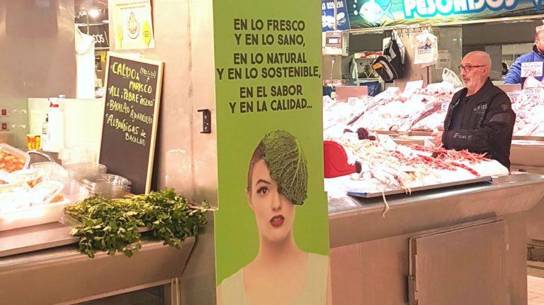 El Mercado Central de Valencia promociona la frescura, calidad, sabor y sostenibilidad de sus productos