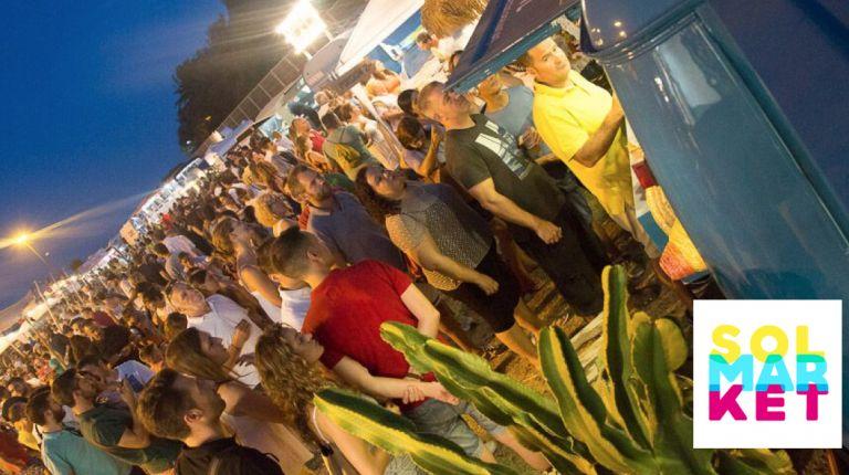 El festival de ocio SOLMARKET triplica su oferta y llega a El Puig con más de 30 foodtrucks y 20 conciertos en 6.000 m2 de playa