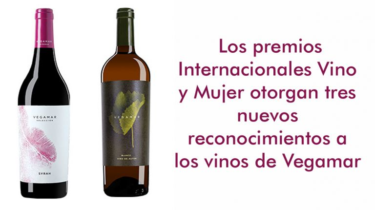 Los premios Internacionales Vino y Mujer otorgan tres nuevos reconocimientos a los vinos de Vegamar