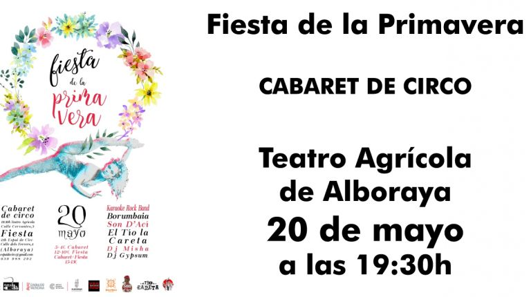 Fiesta Primavera Espai de Circ - 20 de mayo