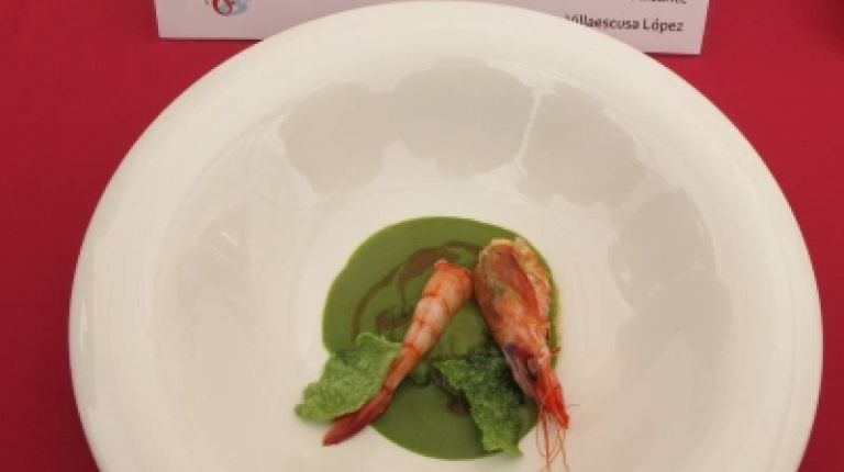 Antonio Villaescusa gana el 6º Concurso Internacional de Cocina