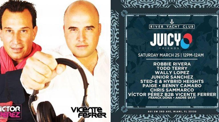 DJ'S  VÍCTOR PÉREZ Y VICENTE FERRER ASISTIRÁN AL WINTER MUSIC CONFERENCE DE MIAMI