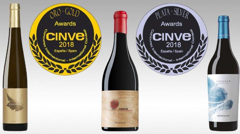 Vegamar recogió en Madrid tres medallas en los premios CINVE