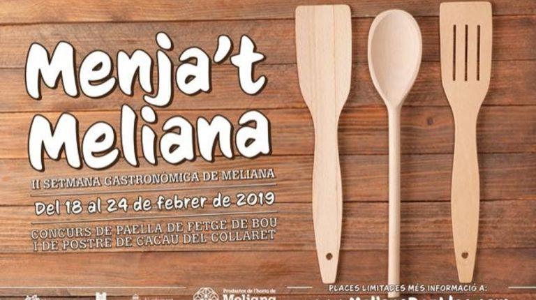 """La DO Valencia estará presente en """"Menja't Meliana"""""""