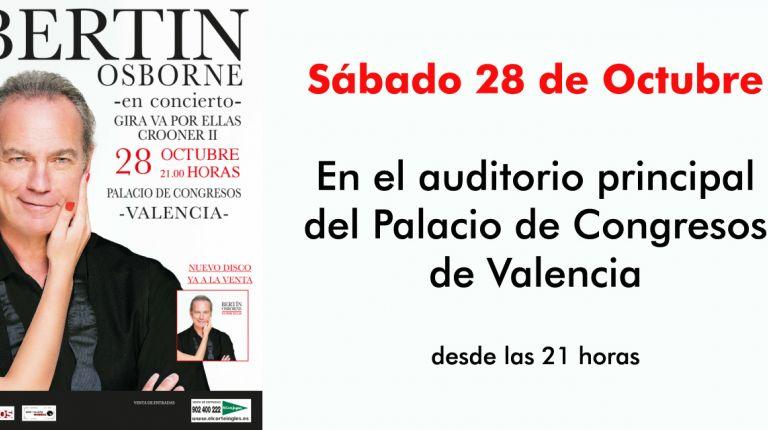 Bertín Osborne en Valencia.