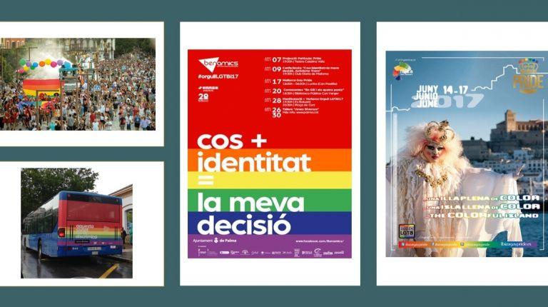Baleares, destino gayfriendly de moda, listo para acoger los eventos de la Gay Pride