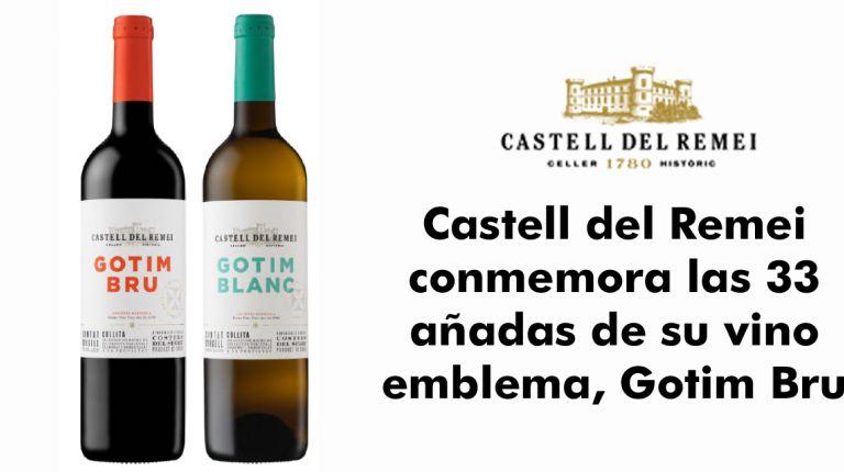 Castell del Remei conmemora las 33 añadas de su vino emblema, Gotim Bru