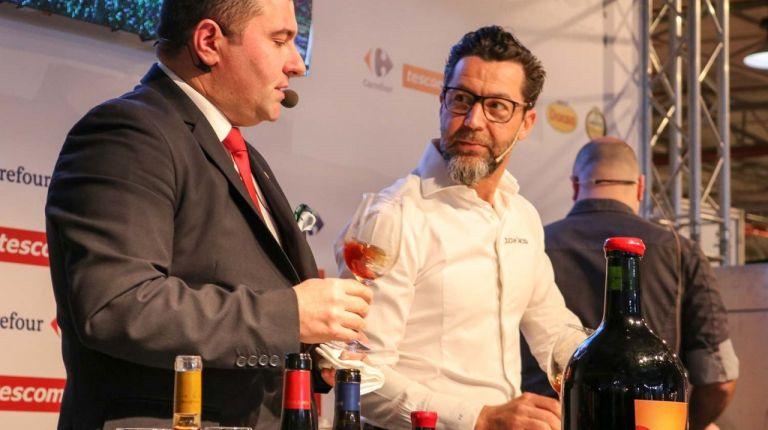 Quique Dacosta presenta el maridaje de sus platos con vinos de la DO Alicante